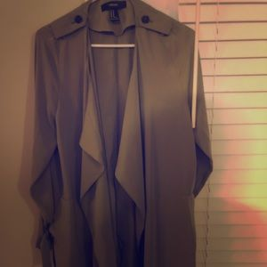 Forever 21 Olive Trench